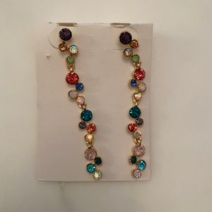 BNWT statement colorful earrings